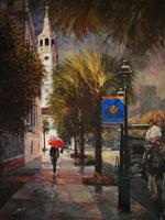 Charleston After the Rain by Peter Justl, at Mary Martin Gallery