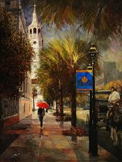"""Charleston After the Rain"" 30"" X 40"""