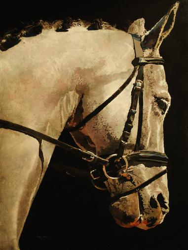 Peter Justl Equestrian Image by Mary Martin Gallery