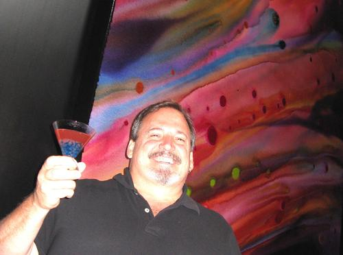 Ritz Carlton creates drink for painting by Bob Ichter